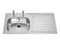 Lamona standard single bowl sink