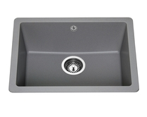 Lamona Grey granite composite inset/undermount single bowl sink