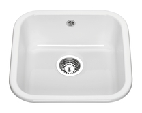Lamona ceramic single bowl undermount sink