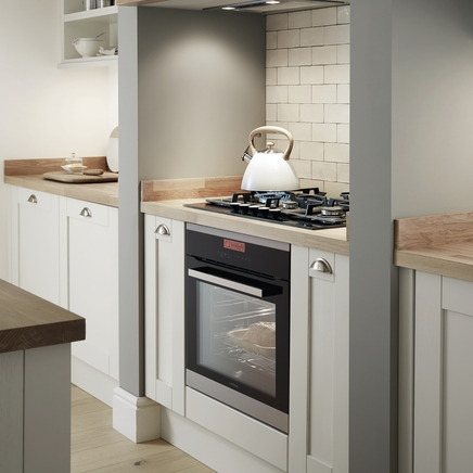 Tewkesbury Dove Grey Shaker Kitchens Howdens Joinery