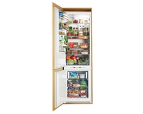 AEG integrated 70/30 frost free fridge freezer