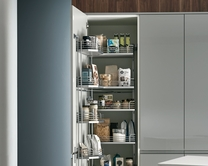 Full-height pull & swing larder