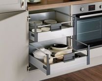 Deep internal storage drawer