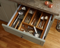 Timber cutlery tray to suit upgrade drawers