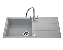 Lamona Light Grey standard composite single bowl sink