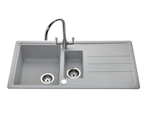 Lamona Light Grey standard composite 1.5 bowl sink