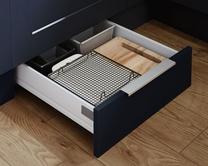 Plinth drawer