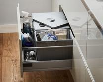 35L Pan drawer recycling bin