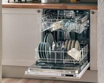 Integrated standard dishwashers