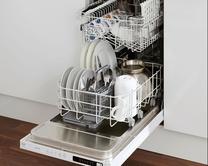 Integrated slimline dishwashers