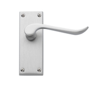 Chrissi Satin Nickel door handles