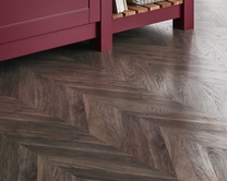 Professional Grey Chevron laminate flooring