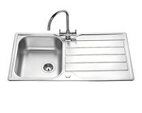 Lamona Rumworth single bowl sink