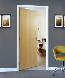 Ash veneer door