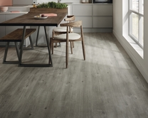 Quickstep Impressive Grey Oak laminate flooring