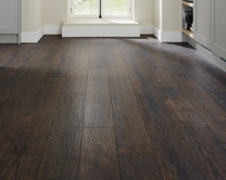 Professional V Groove Dark Oak laminate flooring