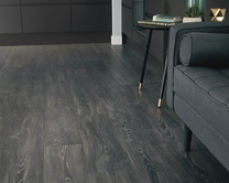 Professional V Groove Black Oak laminate flooring