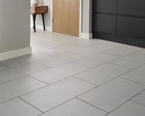 Professional V Groove White Slate laminate tile
