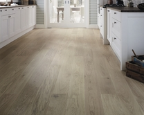 Pre-Finished Fast Fit Light White Oak single plank wide (180mm) flooring