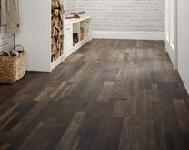 Professional Dark Brown Oak laminate flooring