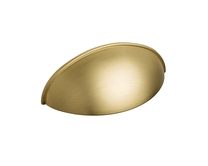 Brushed Brass Effect Contemporary Handles