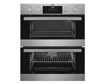 AEG built-under double multi-function oven