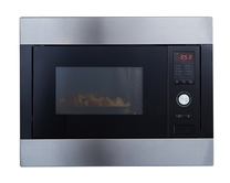 Integrated microwave & grill