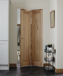 Genoa Oak bi-fold door