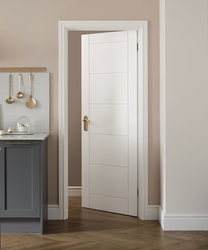 Primed Linear door