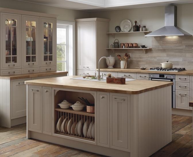 Tewkesbury Framed Range Shaker Kitchens Howdens Joinery