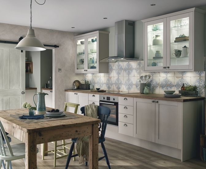 Allendale Cashmere Kitchen Shaker Kitchens Howdens Joinery