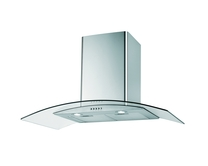 Lamona 90cm curved glass extractor