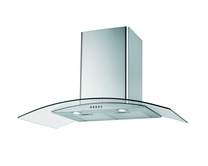 Lamona 60cm curved glass extractor