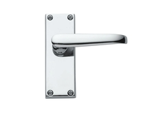 Budget Victorian Chrome door handles