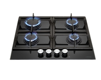 Lamona 4 Burner Gas On Glass Hob