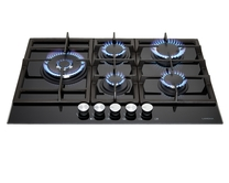 Lamona 5 Burner Gas on Glass Hob