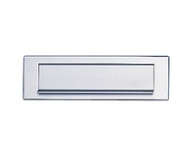 Aluminium letter plate