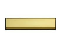 Gold Sleeved letter plate