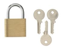 ERA Brass padlock