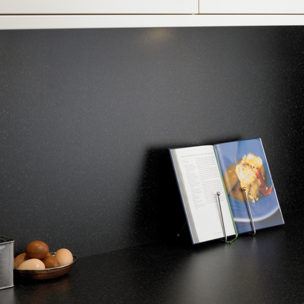 Blackstone backboard kitchen worktop backboards howdens joinery - Kitchen backboards ...