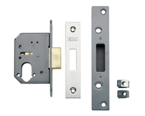 Euro/oval profile cylinder lock cases
