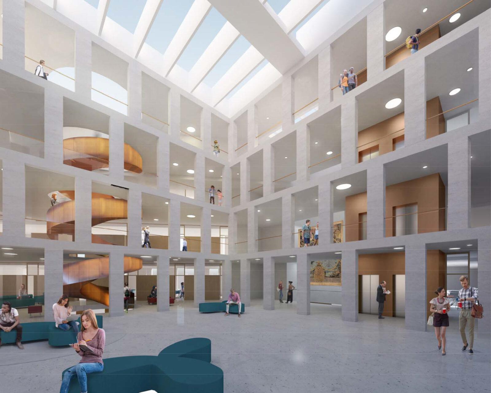 Internal view of Atrium