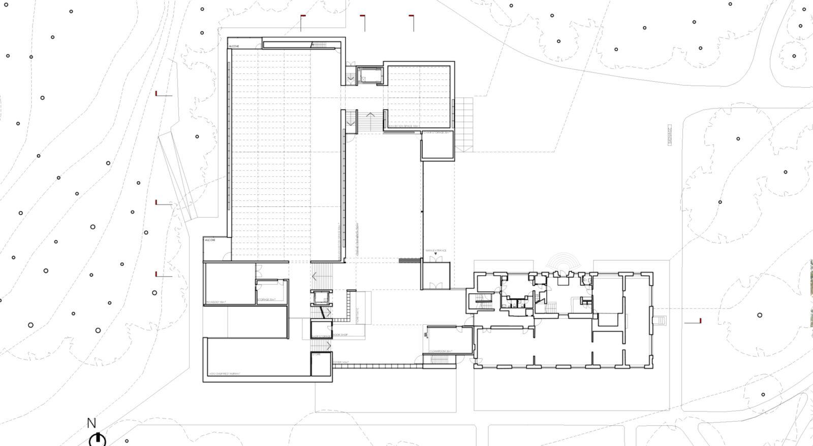 Upper Ground Floor Plan