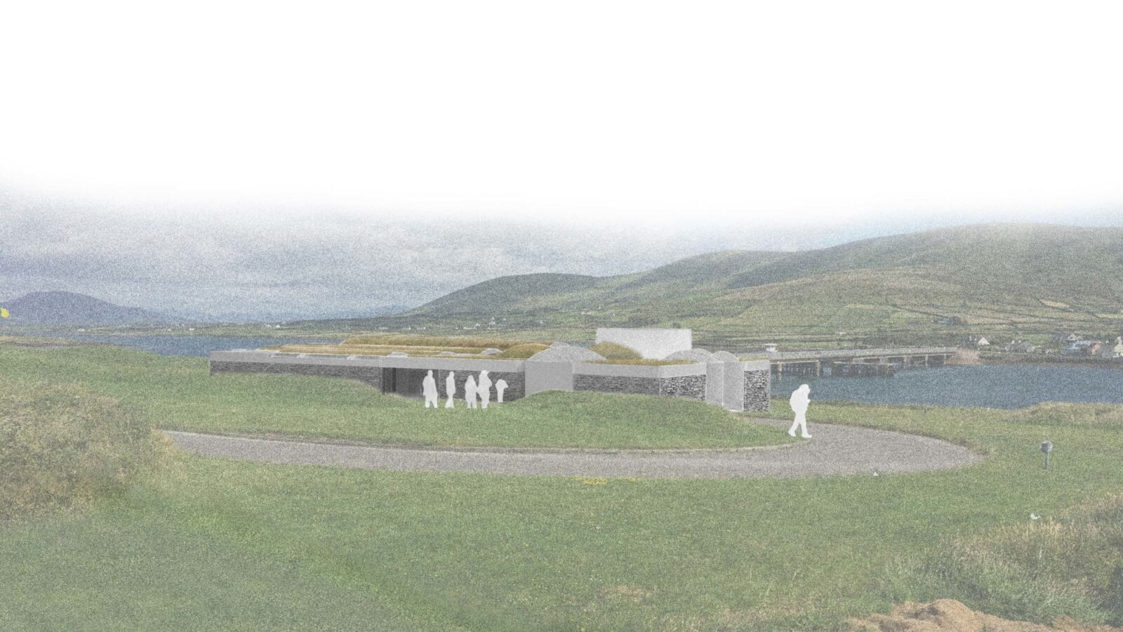 Proposed view from Northwest