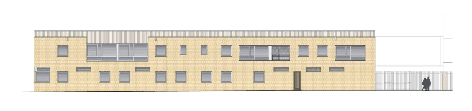 Csch Road West Elevation