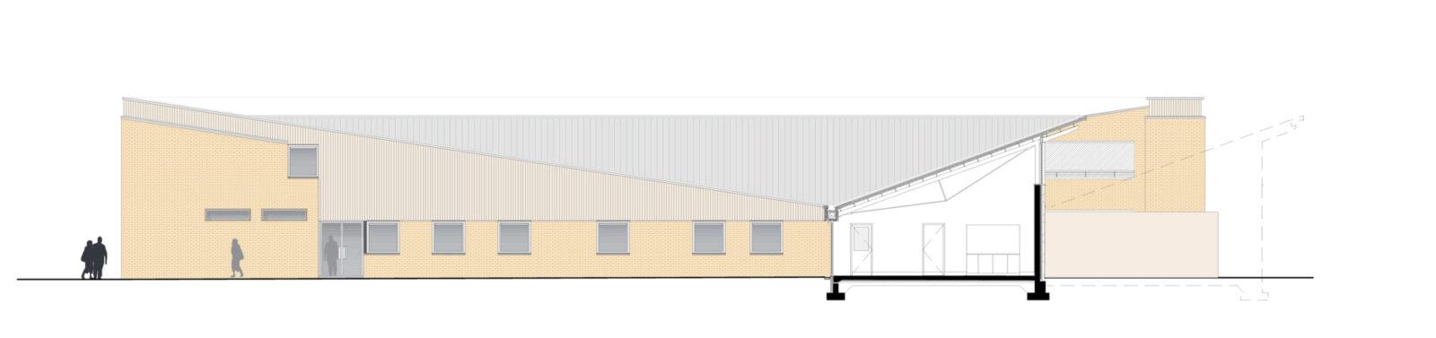 Csch South Elevation