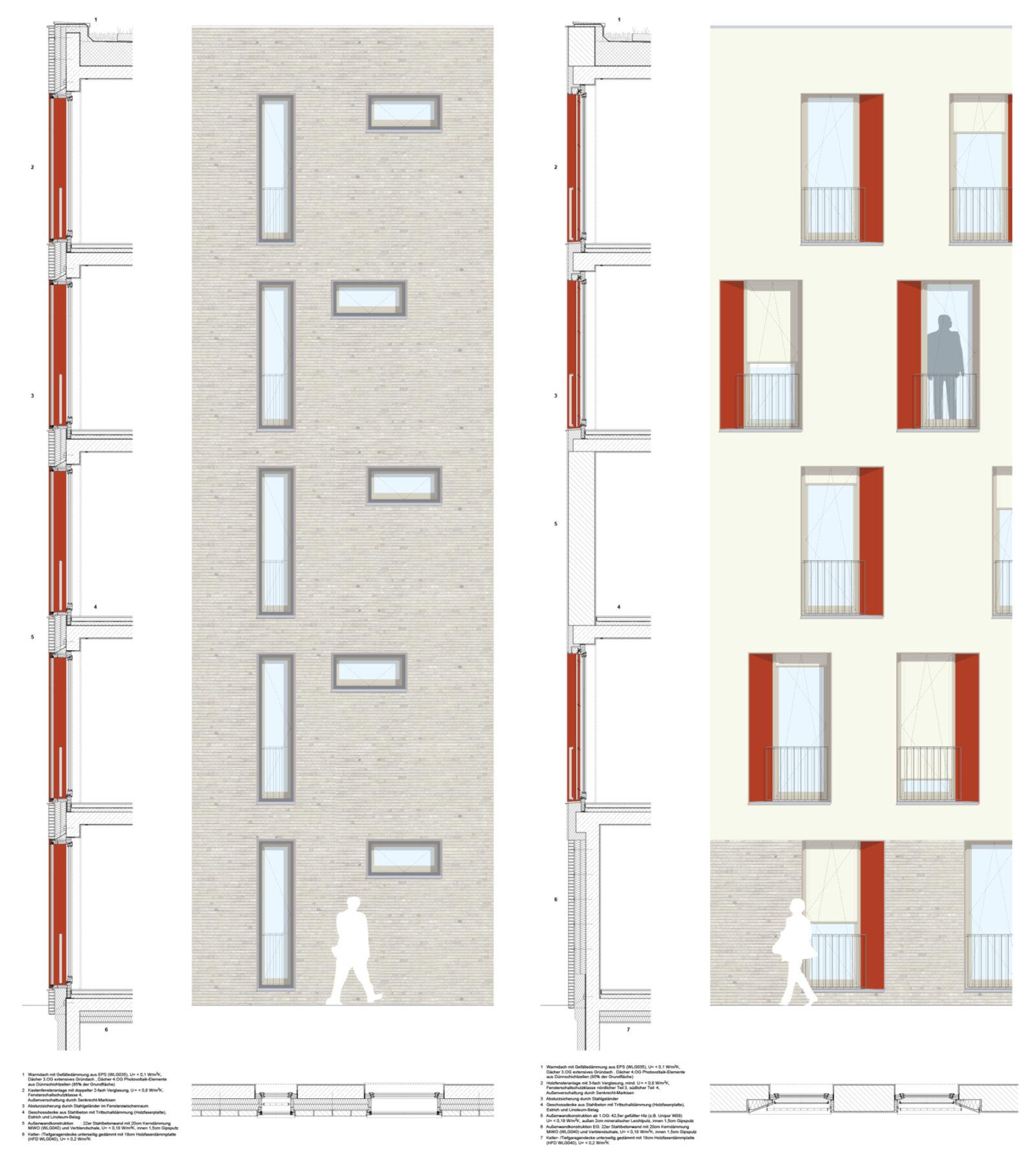 Fassadendetails