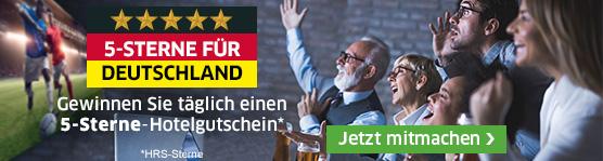 5 Sterne für Deutschland - 5 Sterne für Sie!