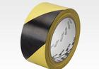 PVC vinil jelölő ragasztószalag 3M 766i sárga-fekete csíkos