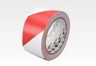 PVC vinil jelölő ragasztószalag 3M 767i piros-fehér csíkos
